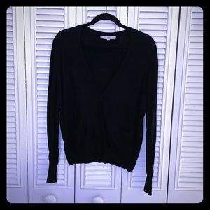 EUC Black Super Soft Cardigan